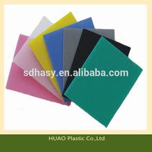 Corrosion resistant High Density Polyethylene Board ,road mat plastic