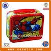 food grade spider man custom tin lunch box