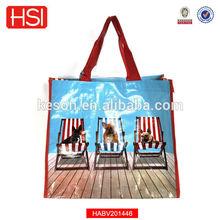2015 Hot Sales Non-woven Laminate Tote Great Carrying Bag Shopping bag Sac a main
