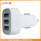 2014 New arrive mobile phone accessory USB car charger for iphone6/Samsung/ipad