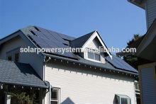 New Grid Tie Solar Inverter With Solar Panel Brackets 5KW Solar Home System Kits