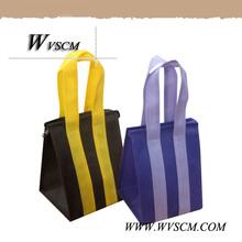 Cheap coolor printed pp woven bag, Bopp laminated pp woven bag