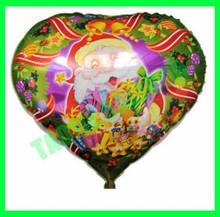 """Heart shape 18"""" Christmas balloon,foil ballon"""
