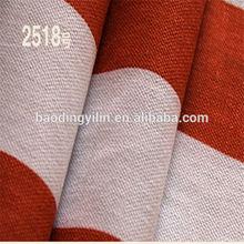 16*12 108*56 red white stripe printed cotton fabric