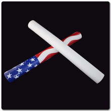 Light Up Glow Flashing LED Foam Cheer Stick for Vocal Concerts and Night Parties