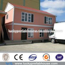 Luxory moderna casa pré-fabricada casas com revestimento de paredes