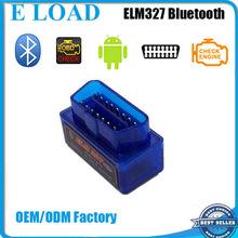 V2.1 Super Mini ELM327 Bluetooth OBD2 Scanner ELM 327 For Multi-brand CANBUS Support All OBD2 Model