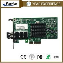 PCI Express Single Port Gigabit Network Card 1 Port Server Adapter 1G2PF571-SFP-RX