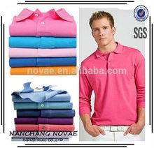 2014 new spring Specific FR LAC. men tshirt /Men casual long sleeve business Tshirt/men cotton machine polo logo