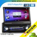 "Erisin es8300a 7"" universal 1 din carro dvd player wifi imagem na imagem"