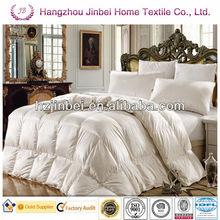 Single bed comforter/100% Duck down comforter/super king size down comforter