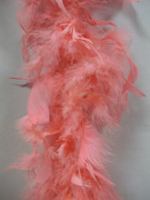 45g pink turkey boa for decoration cheap