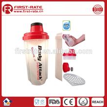 25OZ/700ml Plastic wholesale Shaker Bottle