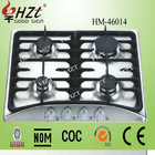 2015 New design! Home appliance 4 burners gas cooker with LPG