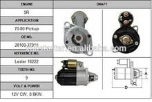 28100-34011 starter for Toyota Celica starter rebuillt auto spare part LESTER NO:16222