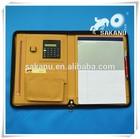 custom a4 PU/PVC/leather file folders,business leather zipper document holders