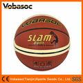 Tamanho e peso oficiais de basquetebol do plutônio bola/laminado de basquete para a formação