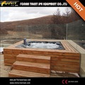Neues design! Eine Familie sex-massage hot tub mit Sex Video hot tubim freien