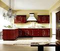 Best selling high gloss PVC China kitchen cabinet