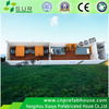 luxury one floor 40ft modern prefabricated houses/container home/family type container house