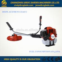 52cc brush cutter head new design 33cc oil power garden 2-stroke grass trimmer
