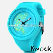 2015 New Fashion Jelly Silicon Kwock Watch