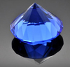 antique clear diamond crystal paperweight as bussiness present