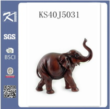 2015 new antique brass polyresin elephant for decoration