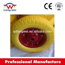 inflatable wheel barrow tire , flat free wheel