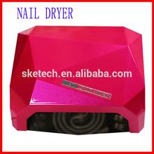 2014 the most popular 18W 36W 48W diamond 36W ccfl led nail lamp