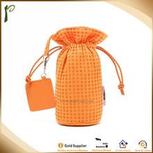 Popwide hot Sale Colors cotton bag travel,drawstring bag travel