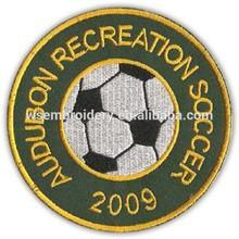 Audubon Recreation Soccer Embroidery Sport Club Logo Badge