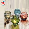candelabro de vidro para decoração de casamento
