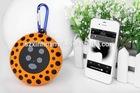 2014 hot new,portable waterproof wireless mini speaker with climbing hook for sport