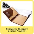 china novo produto qualitied couro artesanal de papel pasta de arquivo