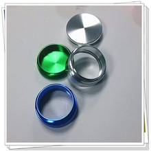 ODM/OEM custom cnc aluminum turned parts aluminum ring parts for machining service