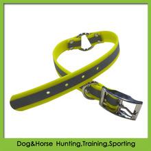 dog eletric training pvc reflective shock collar