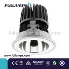2014New Model!15W LED down light,SHARP COB LED, Ledfriend driver,reflector,beam angle25degree