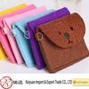 2014 hot sale polyester or wool felt bag