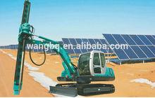 ground screw pile machine SWDL150