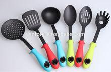 New design colorful kitchen tool set nylon kitchen utensils