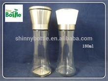 hand-operated salt&pepper mills, spice glass steel cap