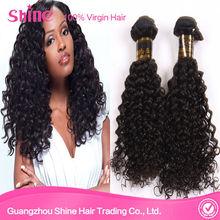 GuangZhou Shine Hair cheap brazilian hair weaving,brazilian kinky curly hair,wholesale 5A virgin brazilian hair bundles