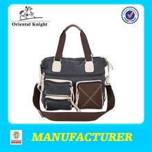 Fashion rope handle men handbag canvas handbag men