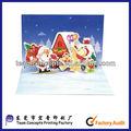 custom christmas 3d decoração artesanal cartão