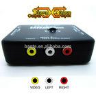 A quality TV switcher DVD VCD Audio Vedio switcher