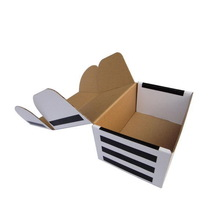 Fashionable new arrival flip open cover packaging box