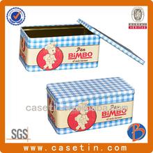 customized design rectangular cute tea packaging gift box