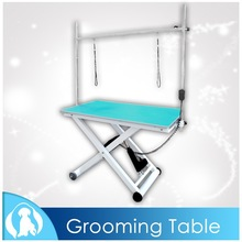 Big X Style Pet Dog Grooming Table with Electric Pump N-108