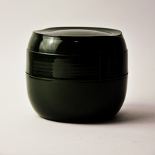 black jar plastic
